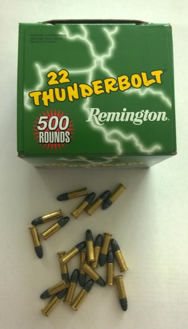 .22LR HV TC REMINGTON THUNDERBOLT, baleno po 50ks